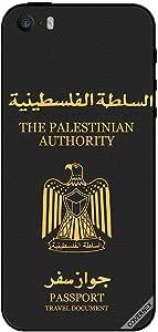 حافظة لهاتف آيفون 5 - جواز سفر فلسطيني