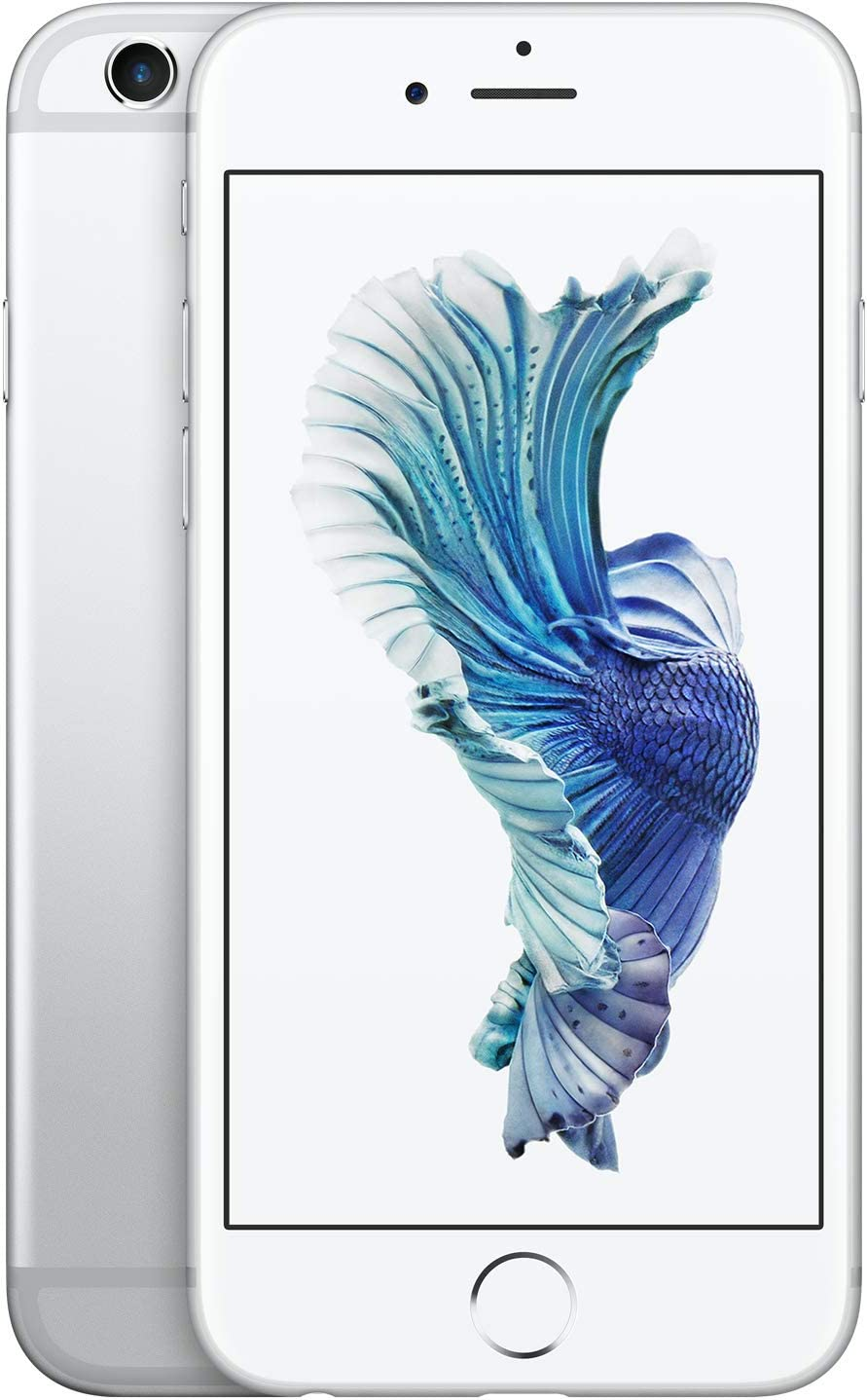 Apple iPhone 6S, GSM Unlocked, 32GB - Silver (Renewed)