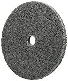 Scotch-Brite 15533 EXL Unitized Wheel, 3'' x 3/4'' x 1/4'' 2A MED, 3'' Diameter, Abrasive Grit, 9000 rpm