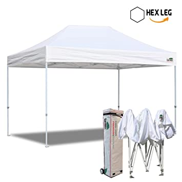 Eurmax 10x15 Ft Premium Ez Pop up Canopy Instant Shelter Outdor Party Tent Gazebo Commercial grade  sc 1 st  Amazon.com & Amazon.com: Eurmax 10x15 Ft Premium Ez Pop up Canopy Instant ...