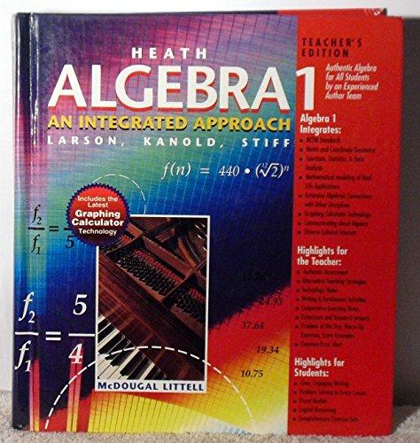 Heath Algebra 1: An Integrated Approach, Teacher's Edition