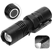 Dimbare zaklamp, led-mini-zaklamp, waterdicht, dimbaar, 5 modi, lange-afstandslamp met magneet voor camping buitenshuis…