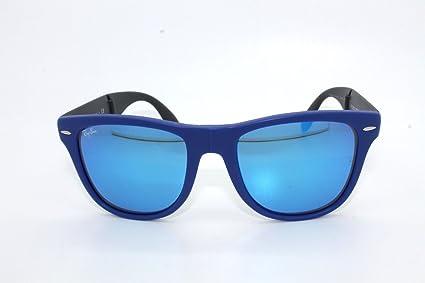 Ray-Ban Wayfarer Gafas de Sol en Verde y Negro auténtica ...