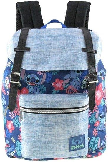 Amazon.com: Mochila escolar con diseño de Lilo y Stitch ...