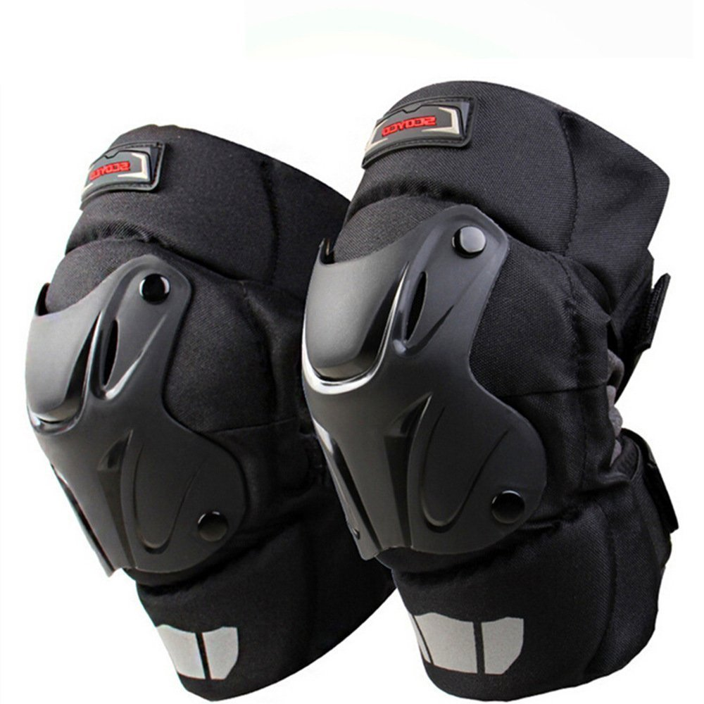 Cuzaekii Scoyco Motorcycle Auto Racing Knee Guards Pads Braces Motocross Protective Gear