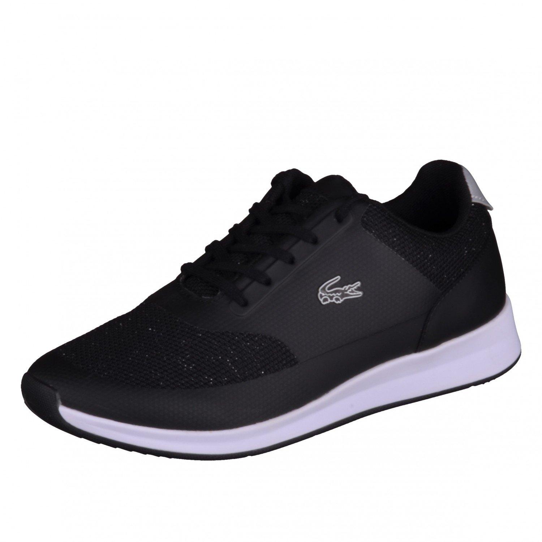 74c82b00d157 LACOSTE Chaumont Lace Trainers Black 4 UK  Amazon.co.uk  Shoes   Bags