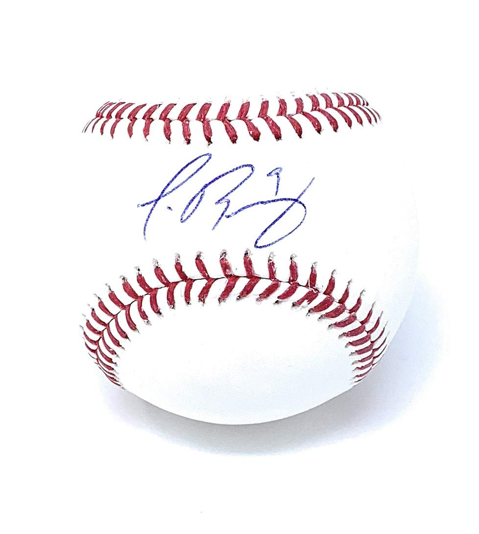 Javy Baez Chicago Cubs Signed Autograph Official MLB Baseball MLB Authentic Certified