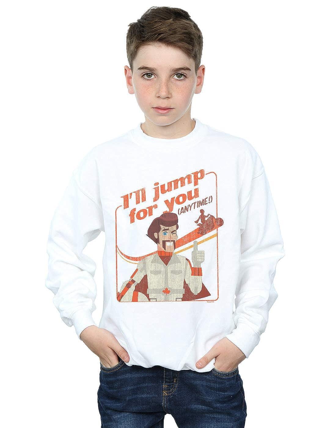Disney Boys Toy Story 4 Duke Ill Jump for You Sweatshirt