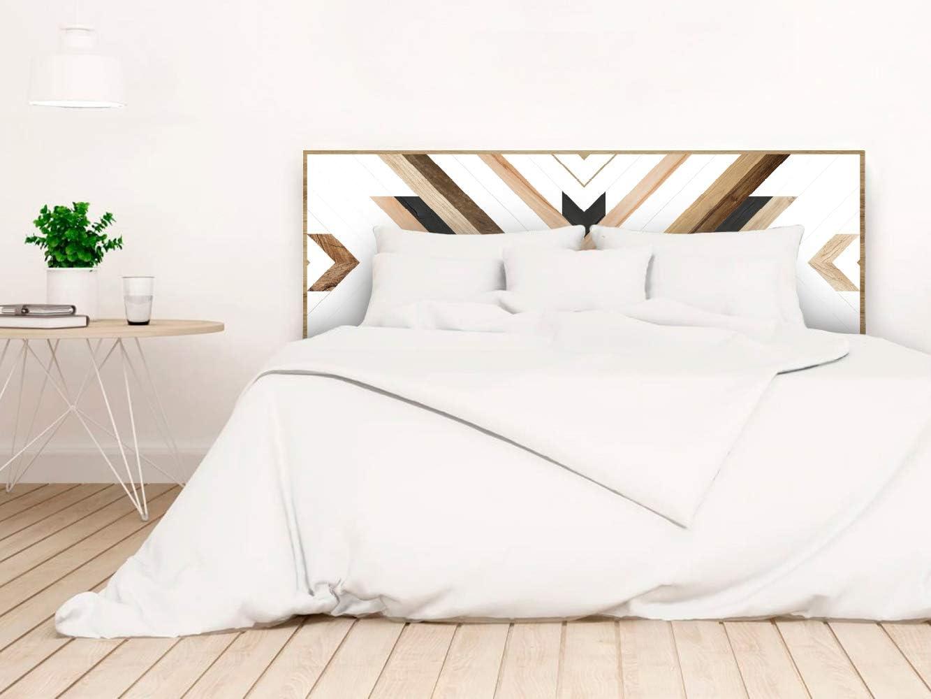 setecientosgramos Cabecero Cama PVC | WoodGuy | Varias Medidas | Fácil colocación | Decoración Dormitorio (150x60)