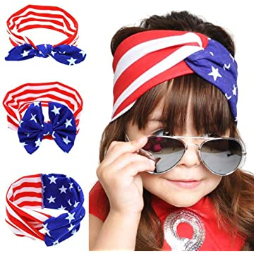 1PC Girls Kids Cute Bow Knot Wrap Headbands Toddler Hair Accessories Headwraps