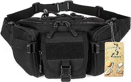 Tactical Waist Pack Shoulder Bag Extra Adjustable Strap Outdoors Workout