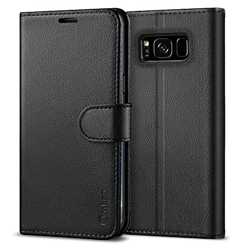 Vakoo Case for Samsung Galaxy S8, Premium Flip Phone Case and PU Leather Wallet Cover for Samsung Galaxy S8 (5.8