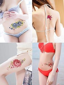 1 parte 24 tatuaje apliques brazo hembra impermeable larga ...