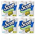 Scott Rapid Dissolve Bath Tissue Made for RVs and Boats (16 Rolls)