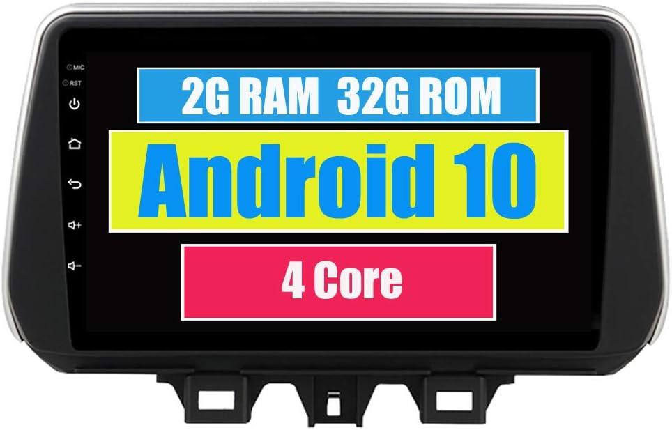 RoverOne Radio del Coche para Hyundai IX35 Tucson 2019 2020 con Android Navegación GPS Pantalla Táctil Estéreo Multimedia Bluetooth WiFi USB Mirror Link
