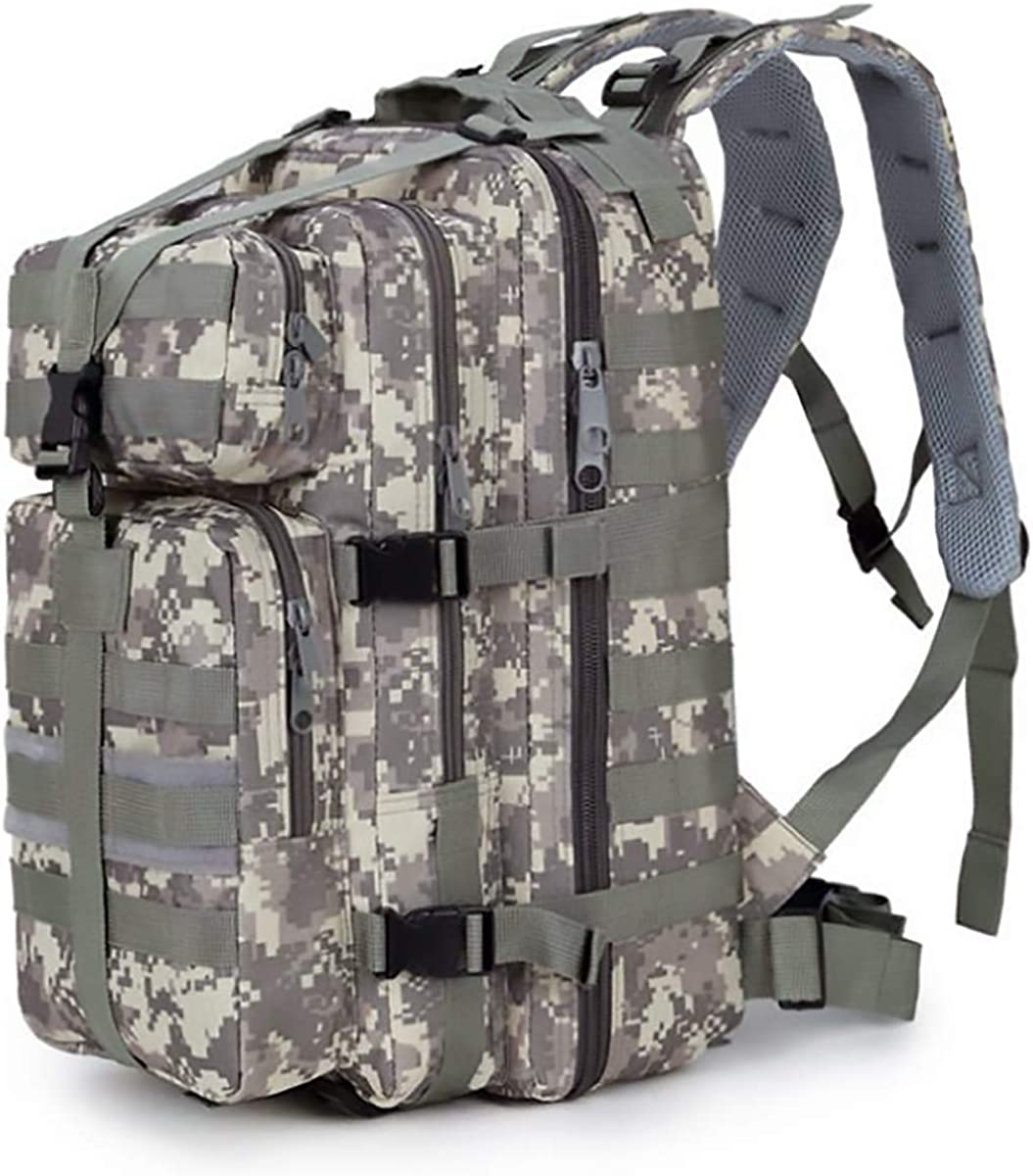 ALTBP Military Tactical Backpack 35L Molle Woodland Backpack Hiking