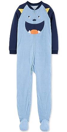 8b6c52528 Amazon.com  Carter s Big-boys  1 Pc Micro Fleece Footed Blanket ...