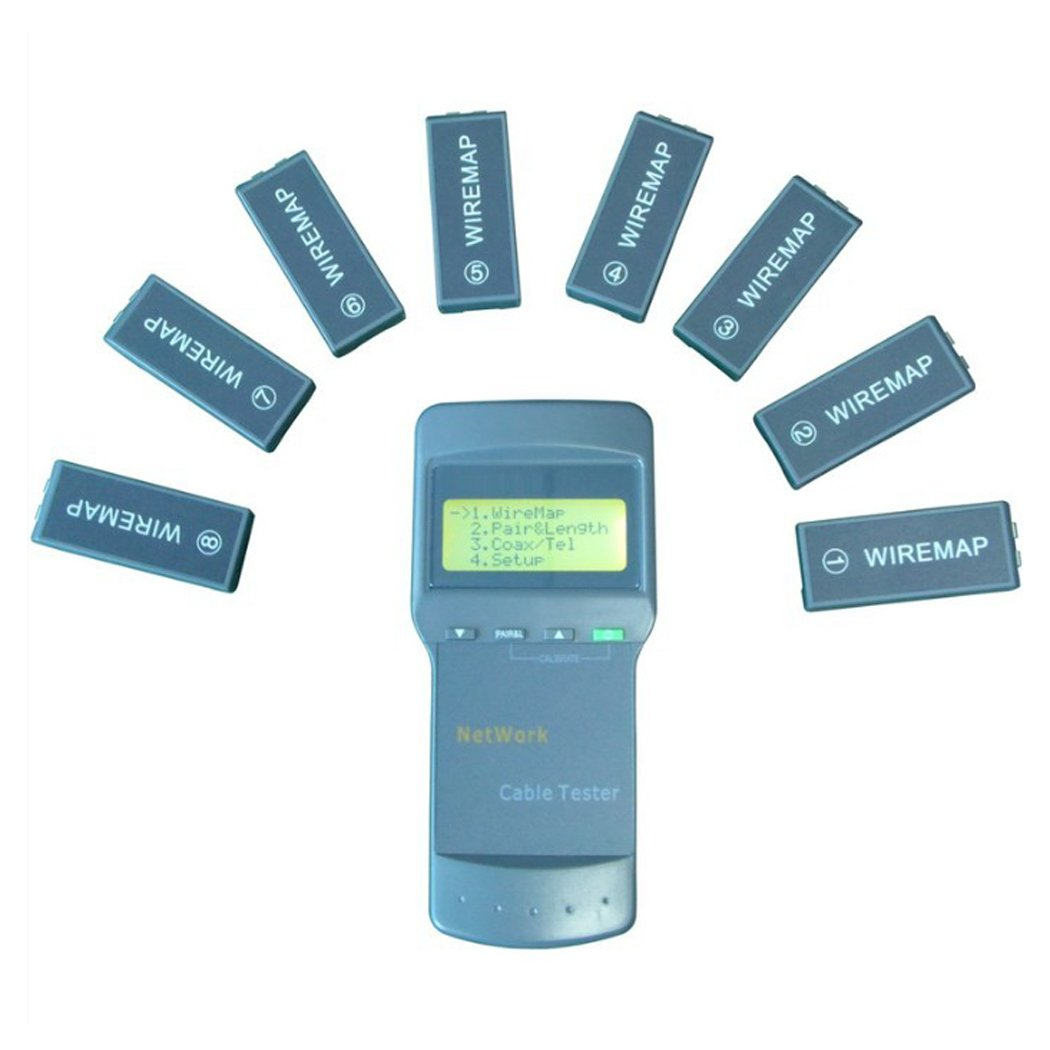 Noyafa D3IN0016 NF-8108-M Cable Wire Fault Finder with 8 Far-end Passive Test Jacks