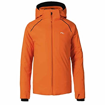 Kjus Kids Formula Jacket Orange Black 128