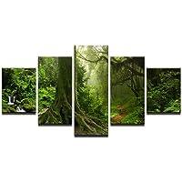 Shisky Quadri Moderni, Pittura a Olio Moderna casa Soggiorno Camera da Letto Decorativo Tela Pittura Arte Prato Foresta