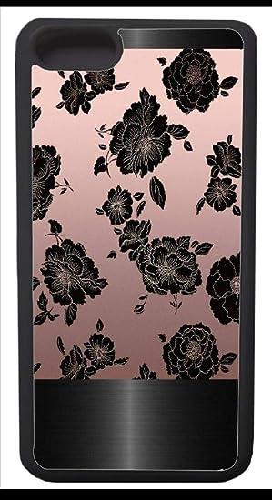 Amazon Com Iphone 7 Case Black Marble Hard Pattern