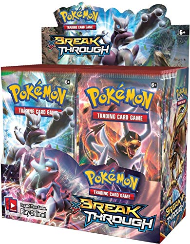 Pokemon XY8 Break Through 4x Booster Packs = 40 Additional Cards Trading Card Game (English)