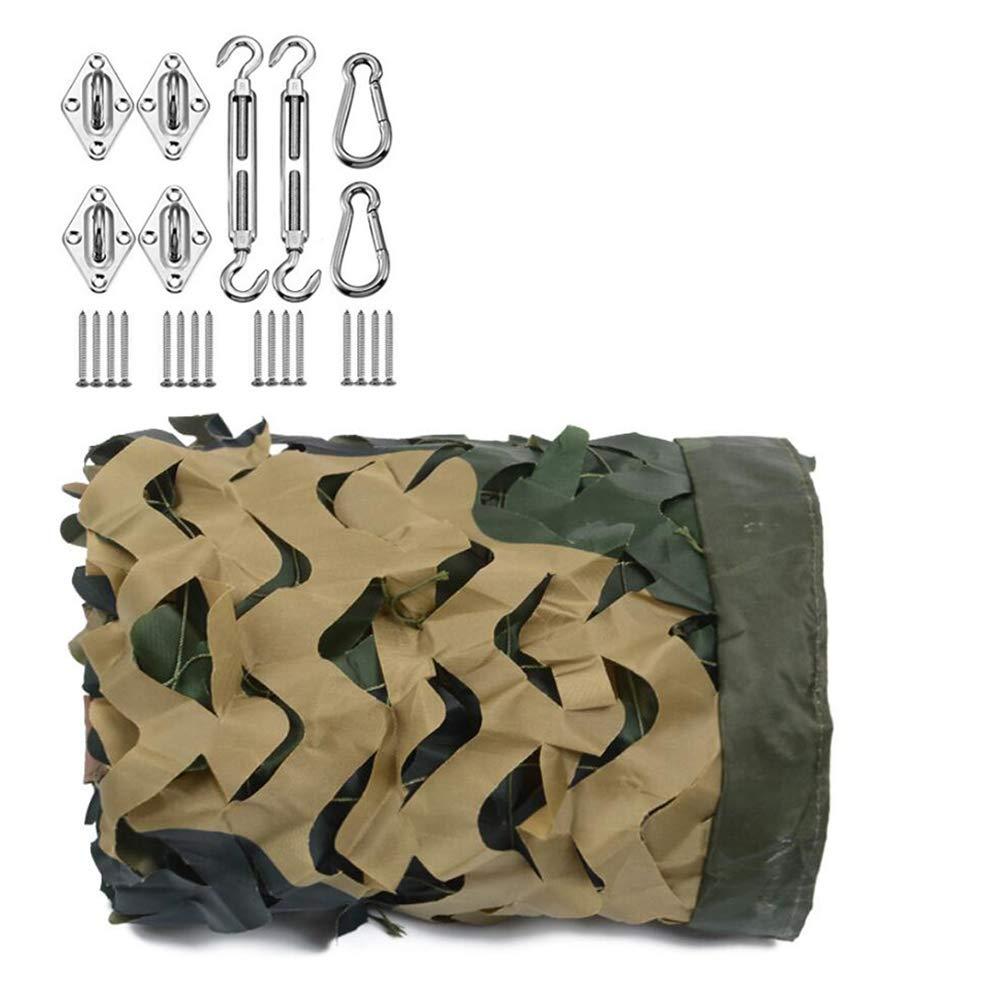 軍事オーニングネットカモフラージュ防水シェードセイルカビライトUVオーニング6X6m隠し寝室ガーデンデコレーション、キャンプカーカモフラージュオーニング(アクセサリーを含む),10*10 10*10  B07RHTHT8F