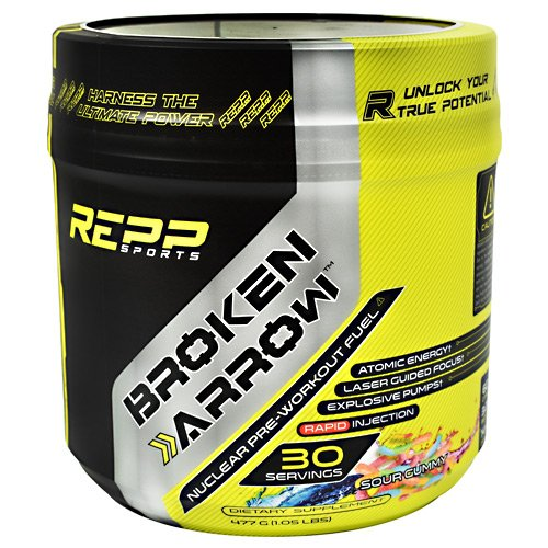 Repp Sports Broken Arrow Sour Gummy 30 Servings