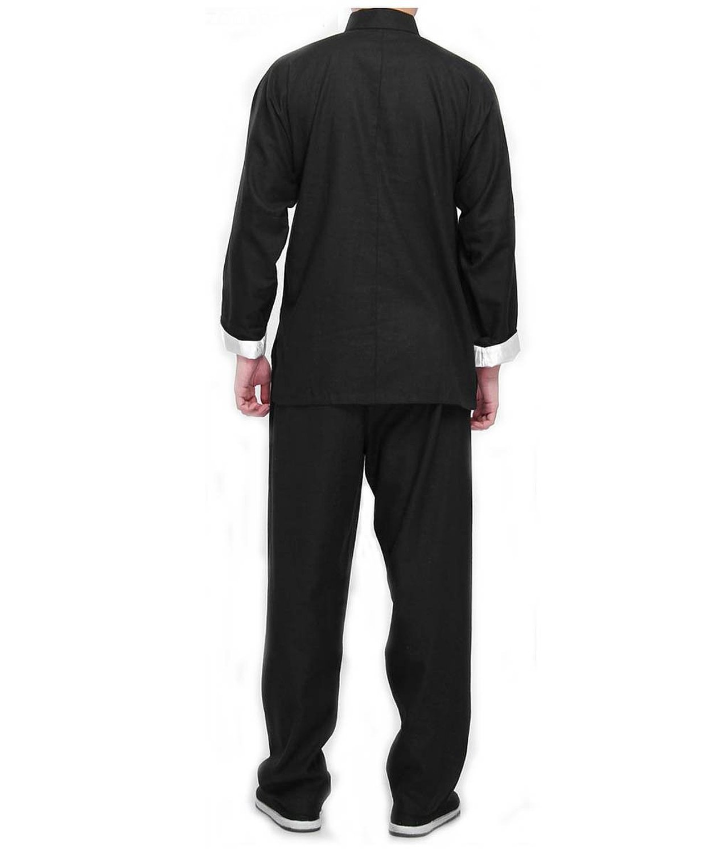 AMESON Bruce Lee Disfraz Chino Wing Chun Kung Fu Uniforme ...