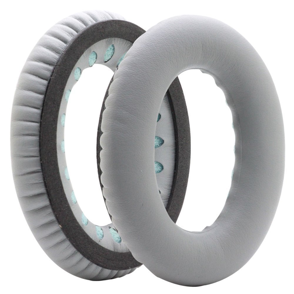 Ear Pads Replacement Earpads for Bose QuietComfort 35 QC35 Series II /Series I QC 25 Wireless Headphones Ear Pad / Ear Cushion / Ear Cups / Ear Cover (Black) Esimen