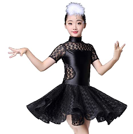 SMACO Traje de Baile Latino para niños Disfraces de Baile Latino ...