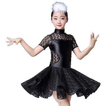 SMACO Traje de Baile Latino para niños Disfraces de Baile ...