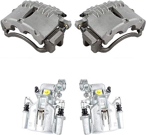 SN95 Premium Grade Semi-Loaded OE Caliper Assembly Set Kit Callahan CCK11560 FRONT 4 REAR