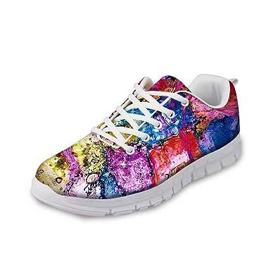 MODEGA Graffiti Schuhe Coole mädchen Schuhe Laufschuhe Damen