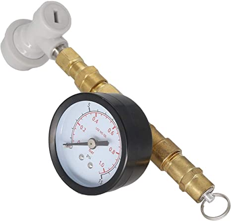 BlowTie Diaphragm Spunding Valve Complete Kit for Home Brewing beer corny keg with ball lock