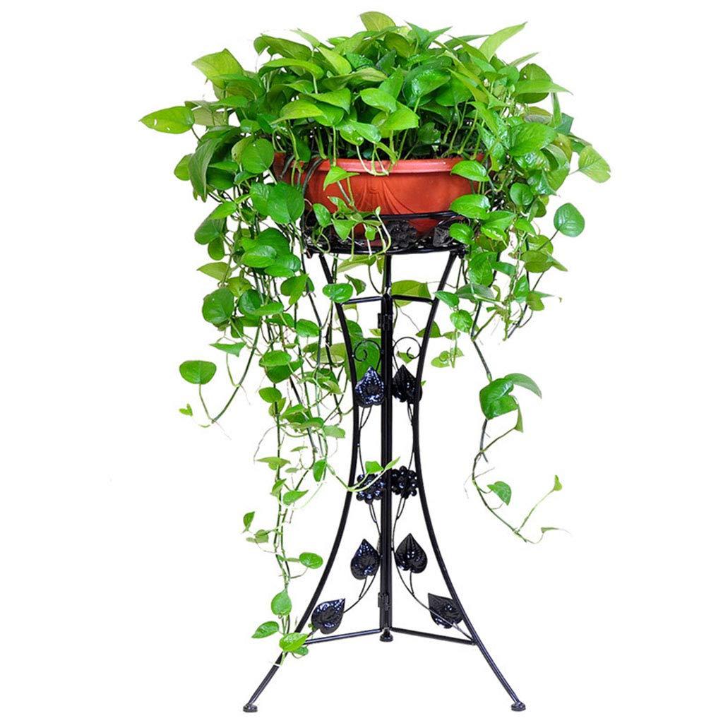 prendi l'ultimo Flower stand Fioriera in Ferro battuto con fioriera a a a Un Piano (Colore   nero, Dimensione   39  78cm)  qualità garantita
