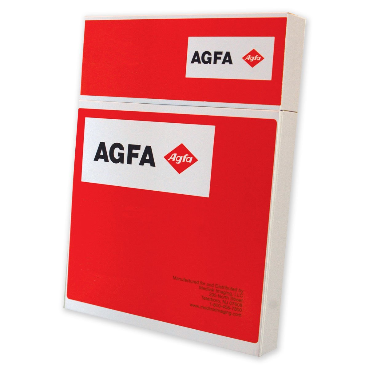 Image of AGFA RADIOMAT PCB2430 X-Ray Film, Full Speed, 24 cm x 30 cm, Blue Sensitive (Pack of 100) X-Ray Film