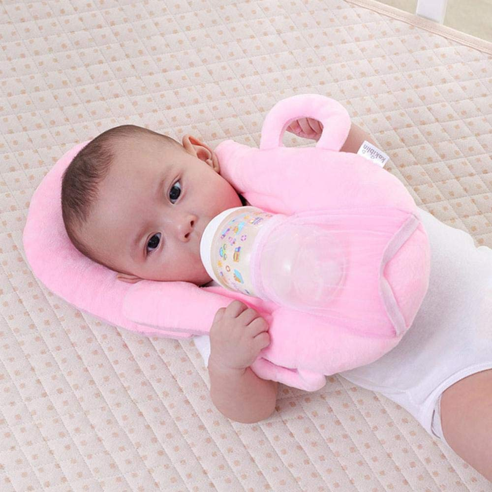 Baby Self Feeding Cotton Pillow Baby Bottle Holder Support Infant Cushion RUICHUANGS Multifunctional Portable Breastfeeding Pillow