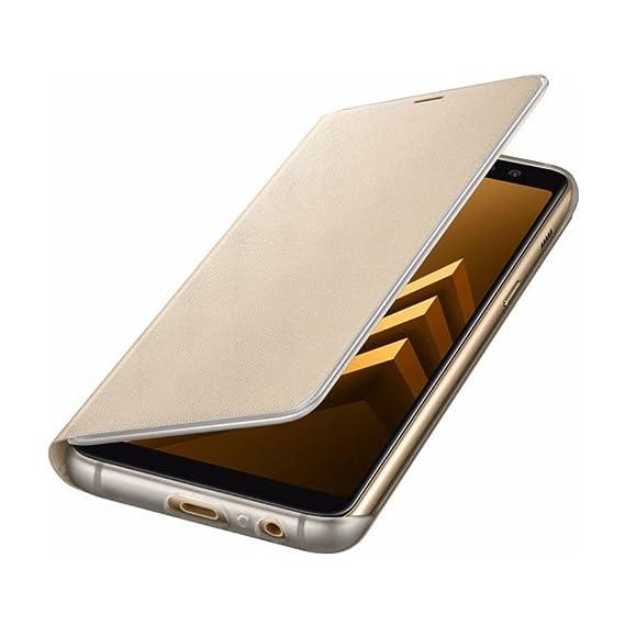 39a7ddae99b Amazon.com: Samsung Official Galaxy A8 2018 Neon Flip Case ...