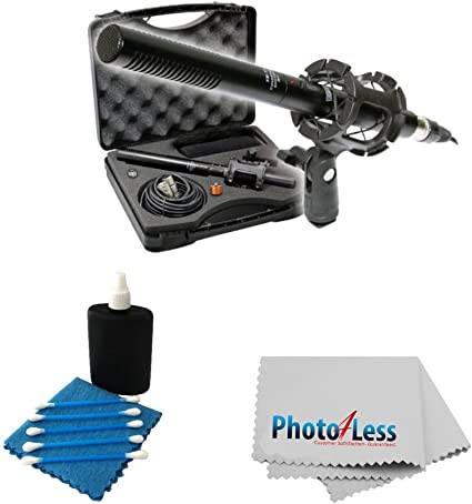 Canon XA30 Camcorder External Microphone Vidpro XM-55 13-Piece Professional Video /& Broadcast Unidirectional Condenser Microphone Kit