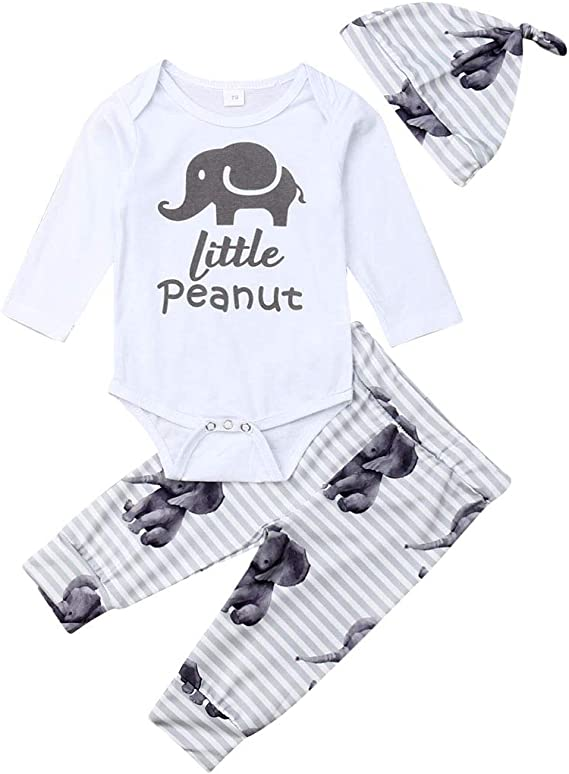Alepoll 3D Horse Baby Girl Boy Bodysuits Sleeve-Short Infant Jumpsuit Outfit