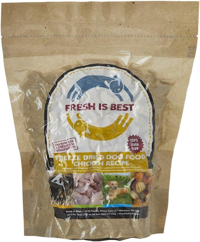 Fresh is Best Raw Freeze Dried Dog Food (Chicken)