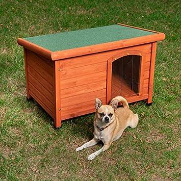 Caseta para Perros Woody con Puerta S: 85 x 57 x 58 cm (An x P x Al): Amazon.es: Productos para mascotas