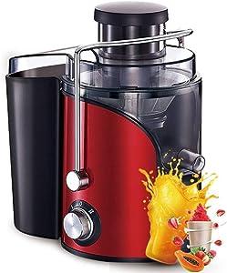 Portable Personal Blenders for kitchen Electric Juicer, Multi-function Juicer Juicer, Stainless Steel Centrifugal Juicer for Fruits and Vegetables