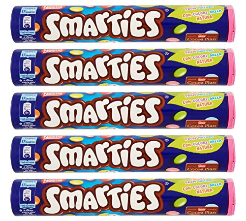 Smarties Nestle From Germany 130g Pack of 5