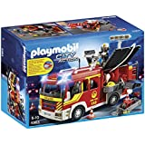 PLAYMOBIL Fire Engine with Lights & Sound Set