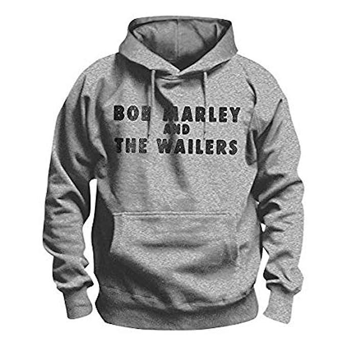 BOB MARLEY - LIGHT SMOKE - Oficial Sudadera para hombre - Gris, Medium: Amazon.es: Ropa y accesorios