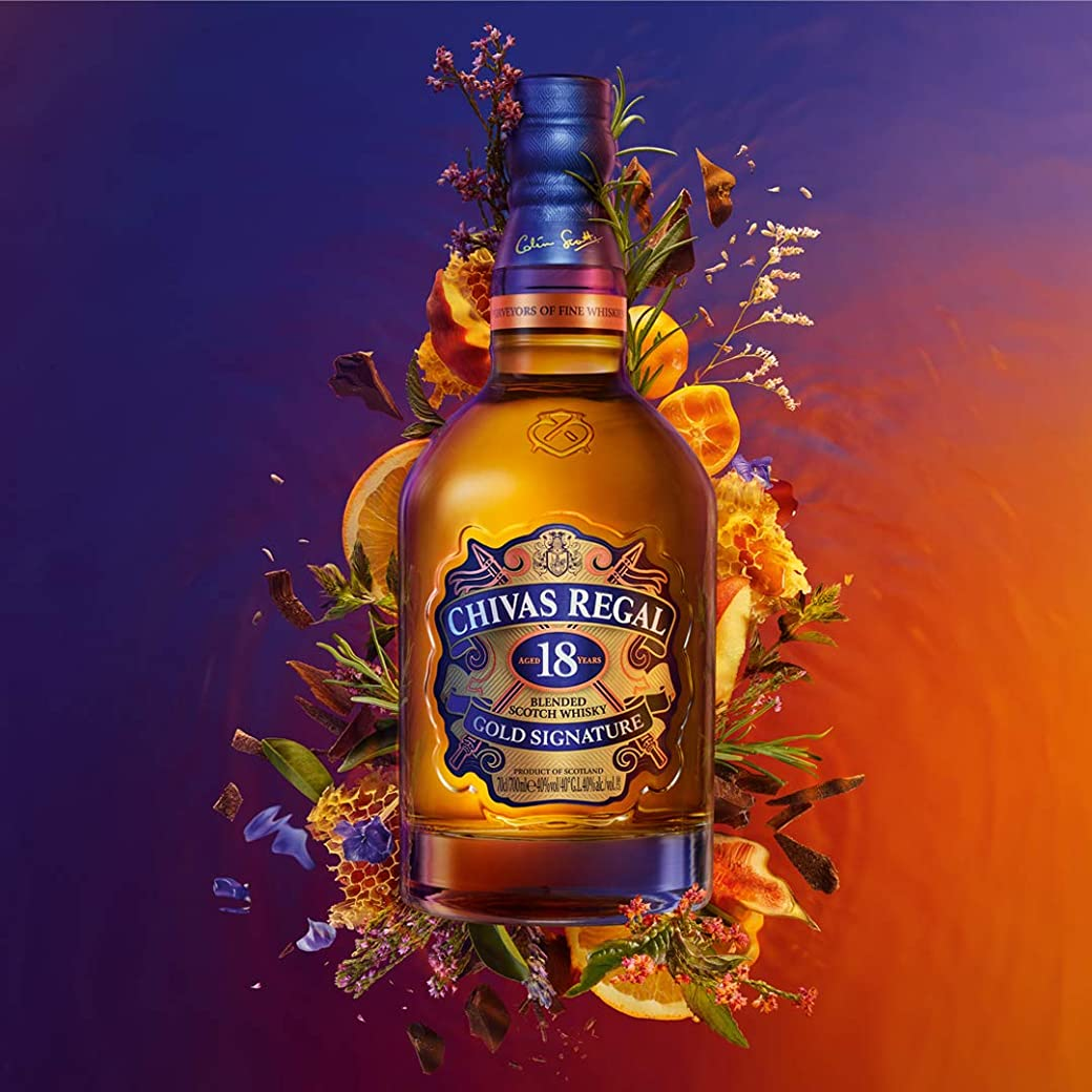 Chivas Regal 18 años Whisky Escocés de Mezcla Premium