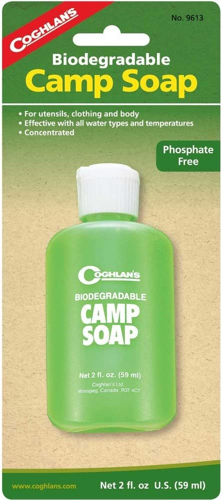 Jabón Biodegradable Campamento de Coghlan (60 ml): Amazon.es: Jardín