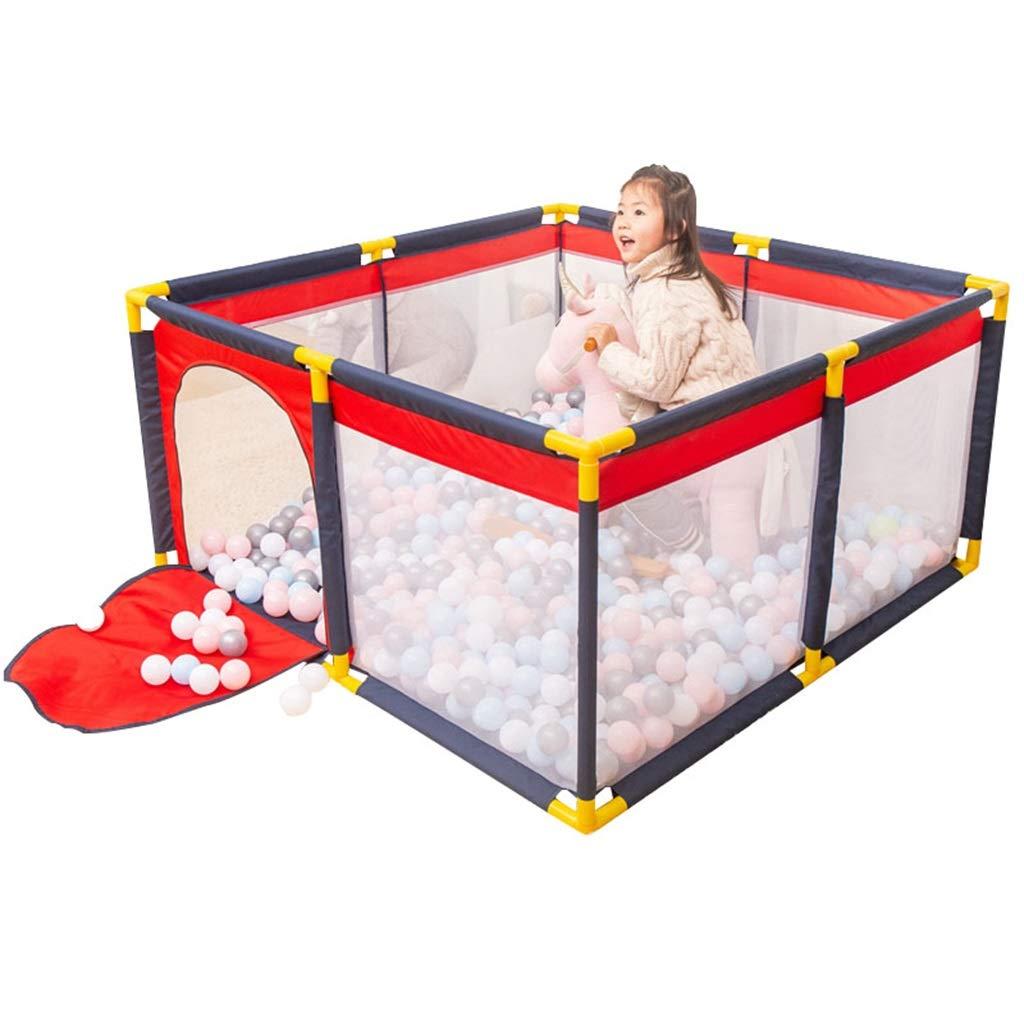 ベイビープレイヤード テント幼児ベビーサークル安全家庭用防護柵組み立てられた家の遊び場(ボールは含まれていません)   B07RD8XWT4